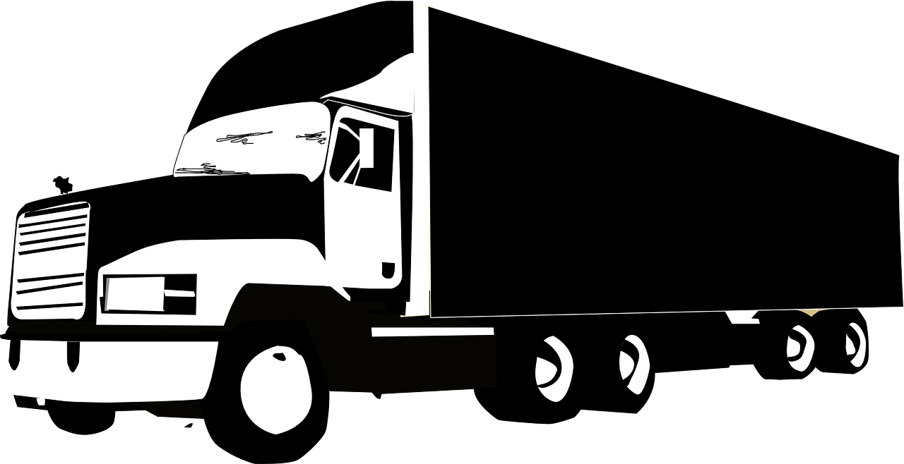ציור של משאית הובלה