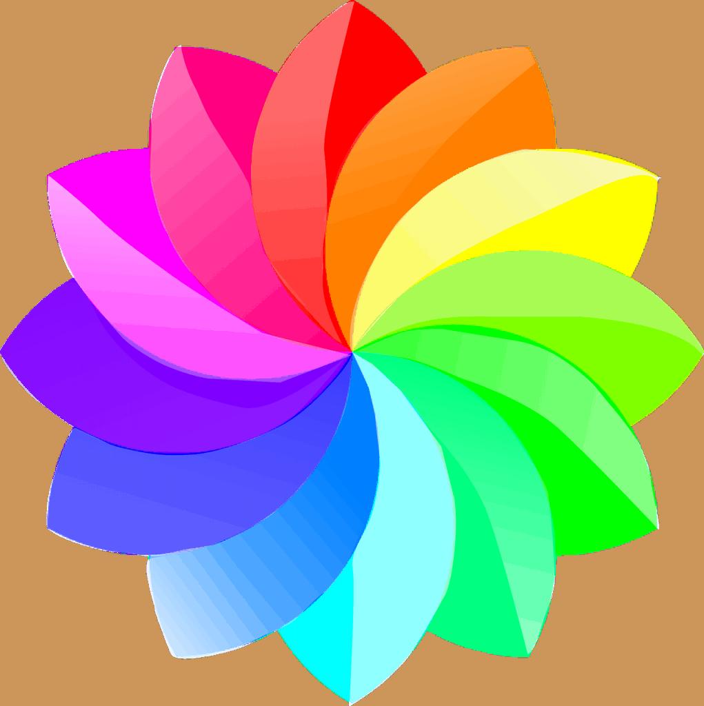 לוגו עם כמה צבעים