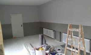 חדר בשלבי סיום